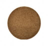 Koberec Color Shaggy - světle hnědá - kruh