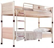Patrová postel Cavalos 90x200cm - akácie světlá