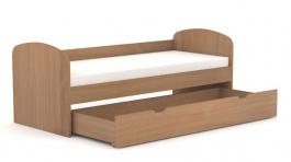 Dětská postel se šuplíkem REA Kakuna 80x200cm - buk