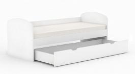 Dětská postel se zásuvkou REA Kakuna 80x200cm - bílá