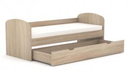 Dětská postel se zásuvkou REA Kakuna 80x200cm - dub bardolino