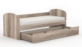 Dětská postel s šuplíkem REA Kakuna 80x200cm - dub canyon
