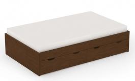 Dětská postel s úložným prostorem REA Misty 90x200cm - wenge