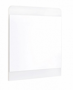 Zrcadlo ke komodě Pure - bílá