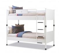 Patrová postel Pure 90x200cm - bílá