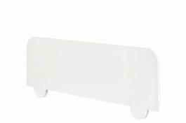 Zábrana na postel Pure - bílá
