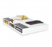 Zásuvka s úložným prostorem Pure 90x190cm - bílá