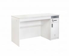 Velký psací stůl Pure - bílá