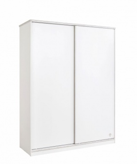 Šatní skříň s posuvnými dveřmi Pure - bílá