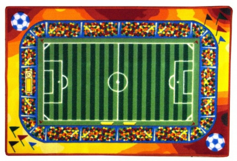 Dětský hrací koberec Fotbal
