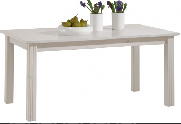 Jídelní stůl s rozkládáním Monako - bílá