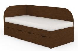 Dětská postel s úložným prostorem REA Gary 90x200cm - wenge