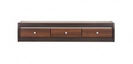 Televizní stolek Forrest 1 - ořech tmavý/dub milano