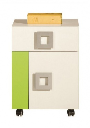 Kontejner na kolečkách Relax 20 - výběr barev