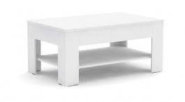 Konferenční stolek REA 7 - bílá