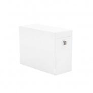 Boční kontejner REA Teeny - bílá