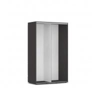 Otevřená šatní skříň 120x200cm REA Tulsa - graphite