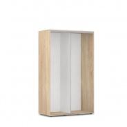 Otevřená šatní skříň 120x200cm REA Tulsa - dub bardolino
