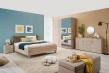 Manželská postel 180x200cm Ciri - v prostoru
