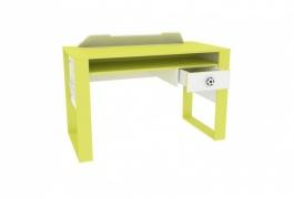 Psací stůl Messi - zelená/bílá