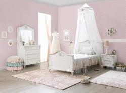 Malý dětský pokoj Carmen - bílá