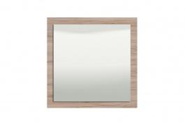 Nástěnné zrcadlo Shine - dub šedý