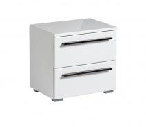 Noční stolek Aubrey - bílá