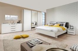 Moderní ložnice Aubrey I - bílá