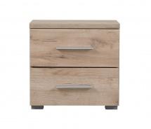 Noční stolek Edward - dub šedý