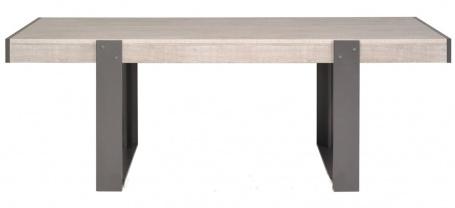 Jídelní stůl Norty II - dub šedý/šedá