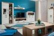 Obývací pokoj Henry - dub bílý/dub šedý