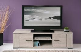 Televizní stolek Norty - dub šedý
