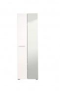 Předsíňová skříň se zrcadlem Falka - bílá