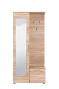Předsíňová stěna se zrcadlem Galina - dub sonoma