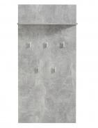 Věšákový panel Beatrix - beton