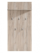 Věšákový panel Beatrix - dub šedý