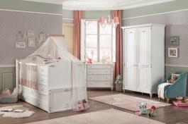 Pokoj pro miminko Carmen - bílá