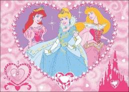 Dětský koberec Princesses Jewels