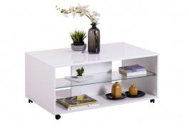 Konferenční stolek Carter - bílá