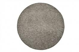 Koberec Elite Shaggy - světle šedá - kruh