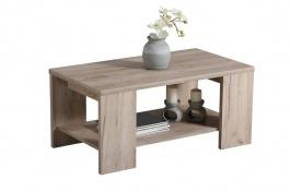 Konferenční stolek 90x50cm Kimora - dub šedý