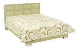 Čalouněná postel DORIS deLuxe 160,180x200cm s úložným prostorem