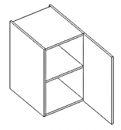 D40 d. skříňka pravá ARUBA sonoma/černá