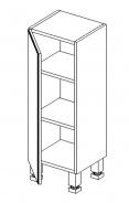 D30 d. skříňka BALI bílá/ořech levá