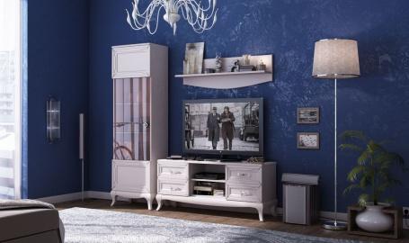 Malá obývací sestava Claudia - krémová