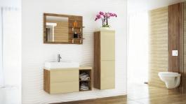 Koupelnová sestava BONITA II vanilka lesk