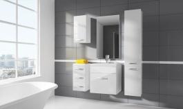 Koupelnová sestava CORAL II bílá