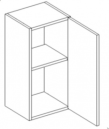 W30 h. skříňka CORAL výběr barev