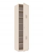 Jednodveřová skříň Claudia - krémová