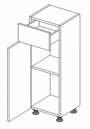 D30 S/1 d. skříňka MILENA PRO levá